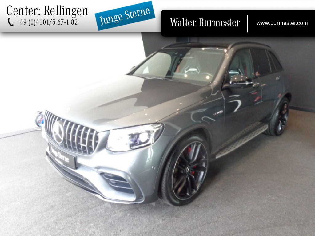 Mercedes-Benz AMG GLC 63 S 4M+ Designo+Drivers P.+Perf. Sitze, Jahr 2018, Benzin