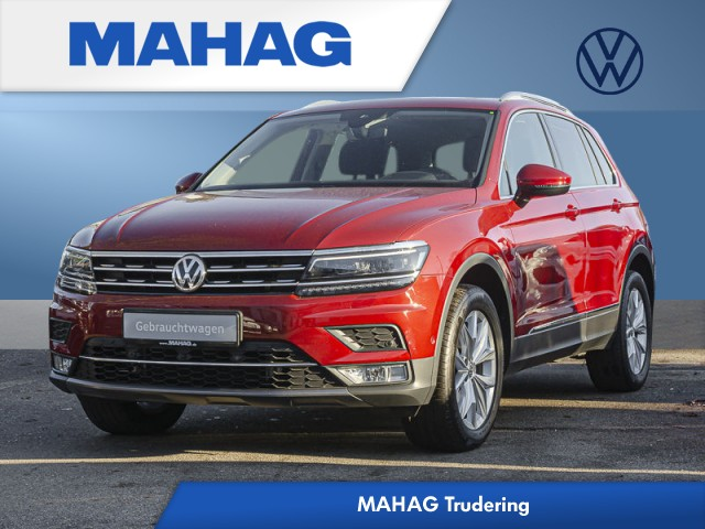Volkswagen Tiguan 2.0 TDI BMT Highline Panorama/Rückfahr/Standhzg/ACC/Navi/LED DSG, Jahr 2016, Diesel
