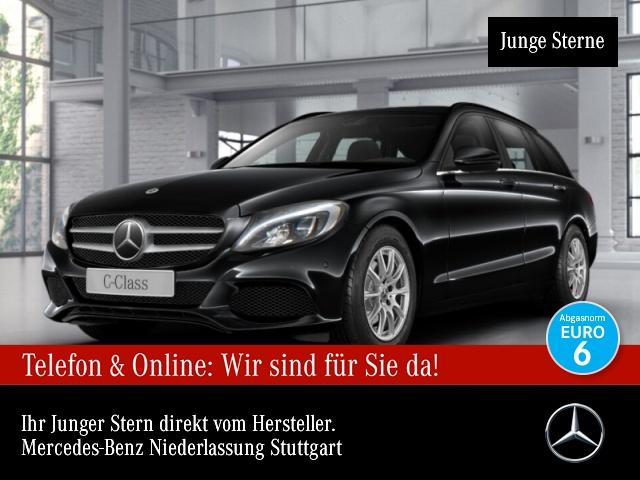 Mercedes-Benz C 200 d T Stdhzg Distr. LED Kamera Spurhalt-Ass 9G, Jahr 2017, Diesel