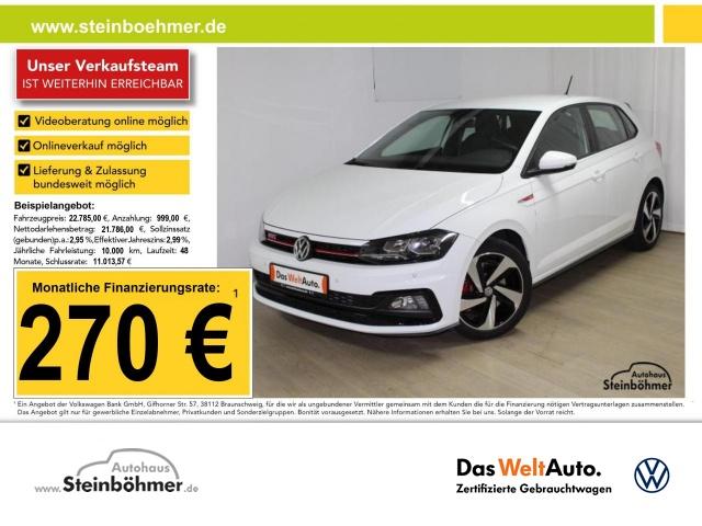 Volkswagen Polo GTI DSG 2.0TSI Navi ACC Sitzhz 17 ParkPilot, Jahr 2020, Benzin