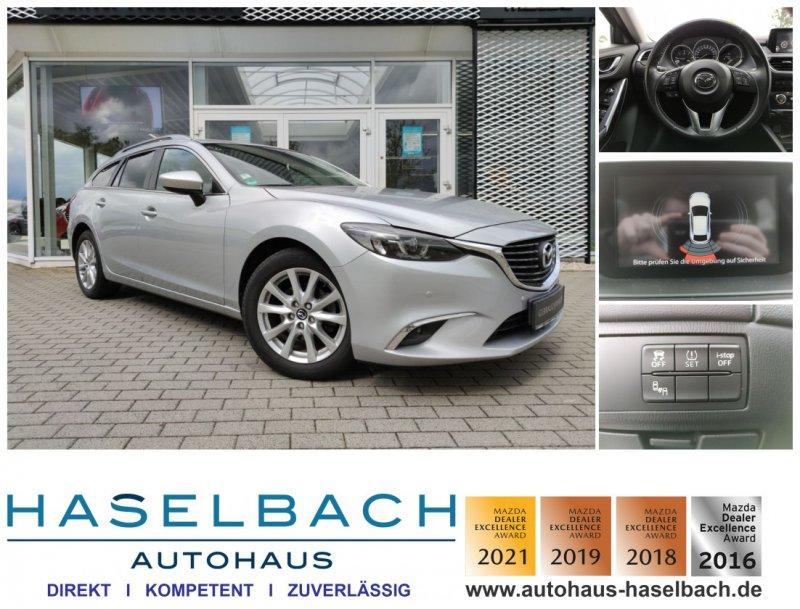 Mazda 6 EXCLUSIVE Einparkhilfe*Sitzheizg*Voll-LED*Klimaautomatik, Jahr 2016, Diesel