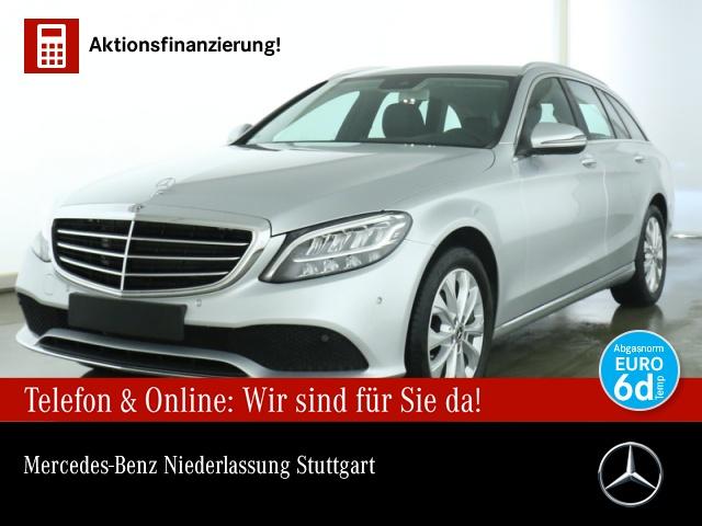 Mercedes-Benz C 180 T Avantgarde Exclusive Stdhzg LED AHK Kamera, Jahr 2019, Benzin
