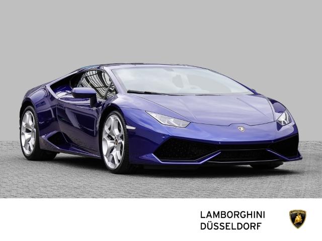 Lamborghini Huracan LP 610-4 Ad Personam Blu Dedalo, Jahr 2018, Benzin