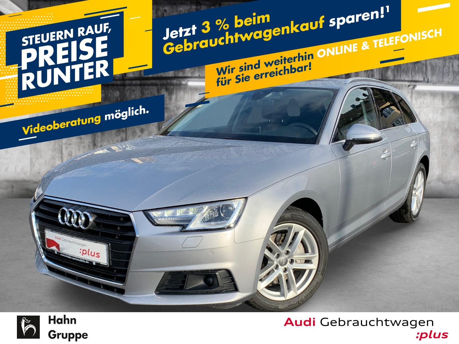 Audi A4 Avant 2.0TDI S-trc Navi Xen Sitzh Einpark, Jahr 2017, Diesel