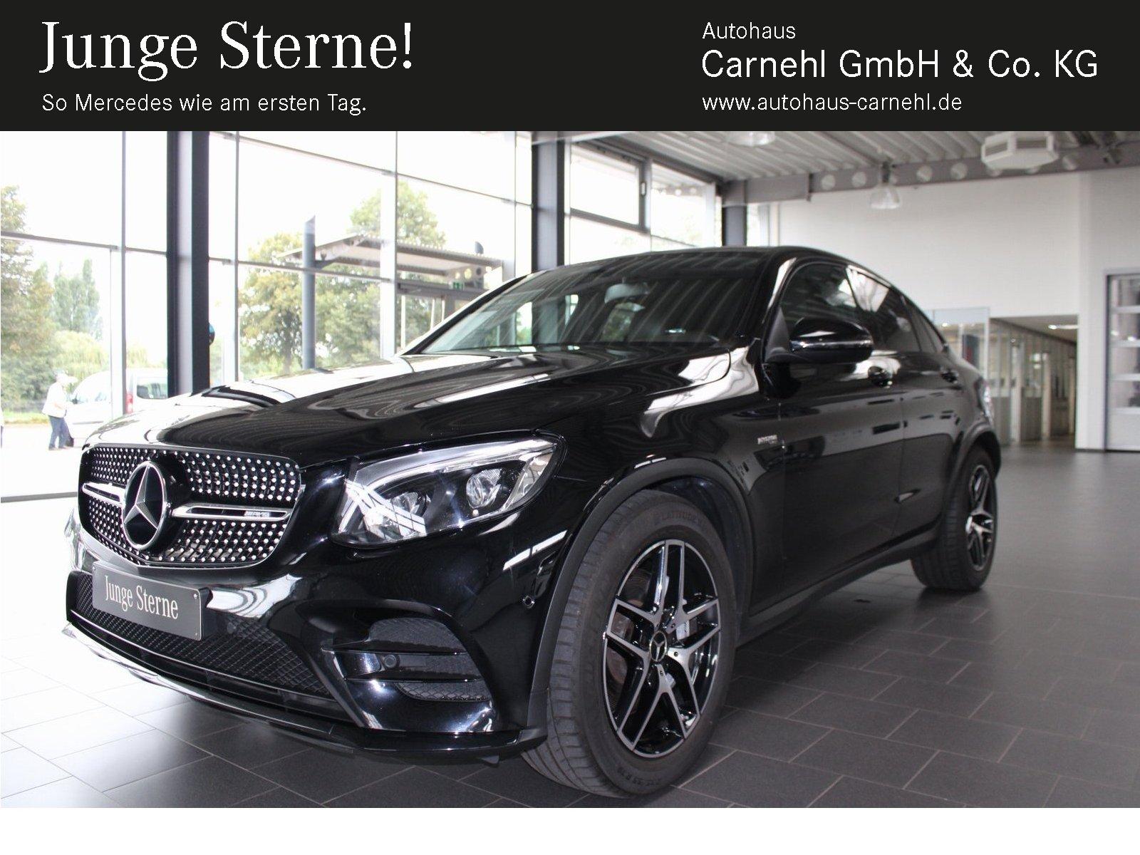 Mercedes-Benz GLC 43 AMG 4M Coupe+Night+Airmatic+SHD+Ambiente, Jahr 2018, Benzin