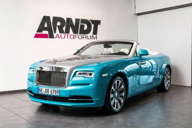 Rolls-Royce Dawn Launch Massage Spirit DriverAssistance 3, Jahr 2018, Benzin