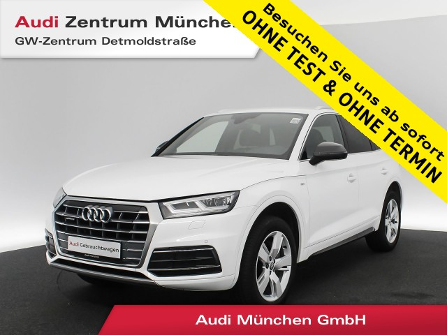 "Audi Q5 40 TDI qu. Sport S line B&O Virtual LED Navi Assistenz Teilleder 19"" S tronic, Jahr 2019, diesel"