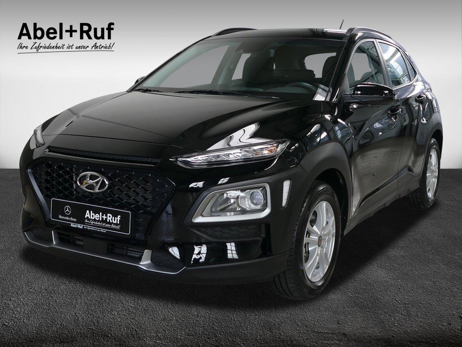 Hyundai Kona 1.0 T-GDI+Select+2WD+AHK+Klima+8fach, Jahr 2018, Benzin