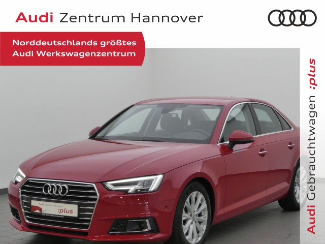 Audi A4 2.0 TDI Design Navi, LED, HUD, Leder-Alcantara, Sportsitze, DAB, Jahr 2015, Diesel