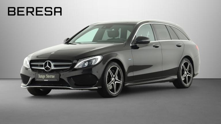 Mercedes-Benz C 350 e T AMG LED Kamera Navi Airmatic PDC, Jahr 2017, Hybrid