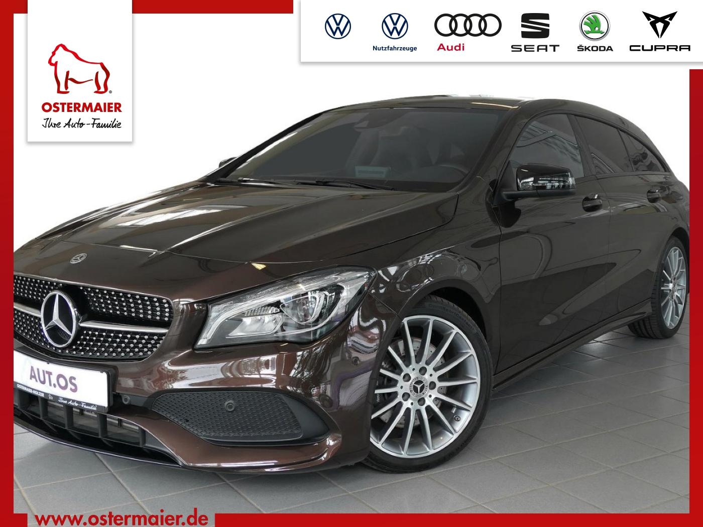 Mercedes-Benz CLA 220 Shooting Brake AMG Line 4Matic DCT.LED.N, Jahr 2018, Benzin