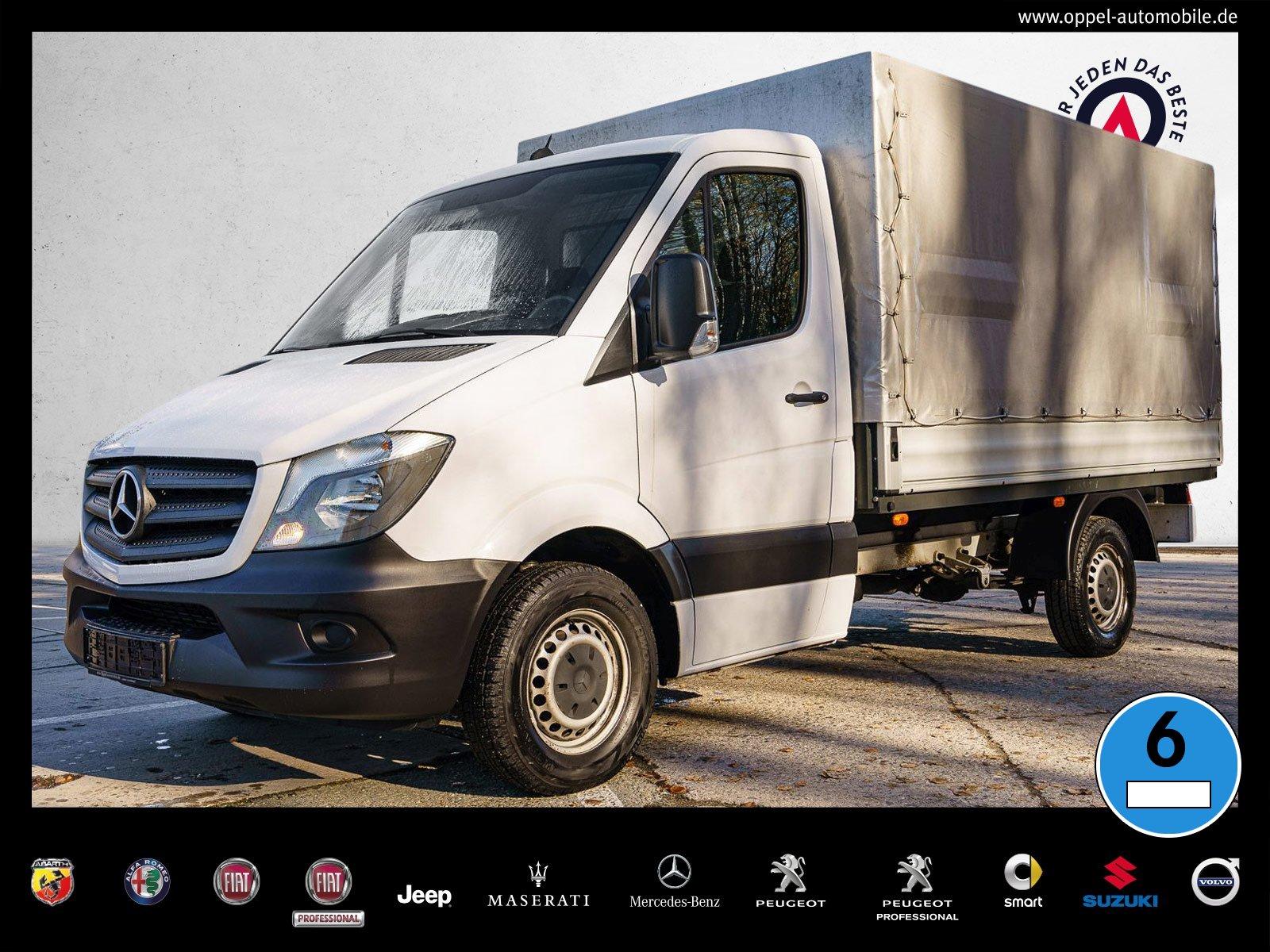 Mercedes-Benz Sprinter 214 CDI Pritsche ANHÄNGERKUPPLUNG+KLIMA, Jahr 2017, Diesel