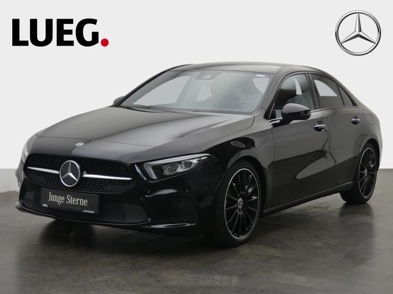 Mercedes-Benz A 180 d Lim Progressive+MBUX+Navi+PD+Burm+LED+19, Jahr 2019, Diesel