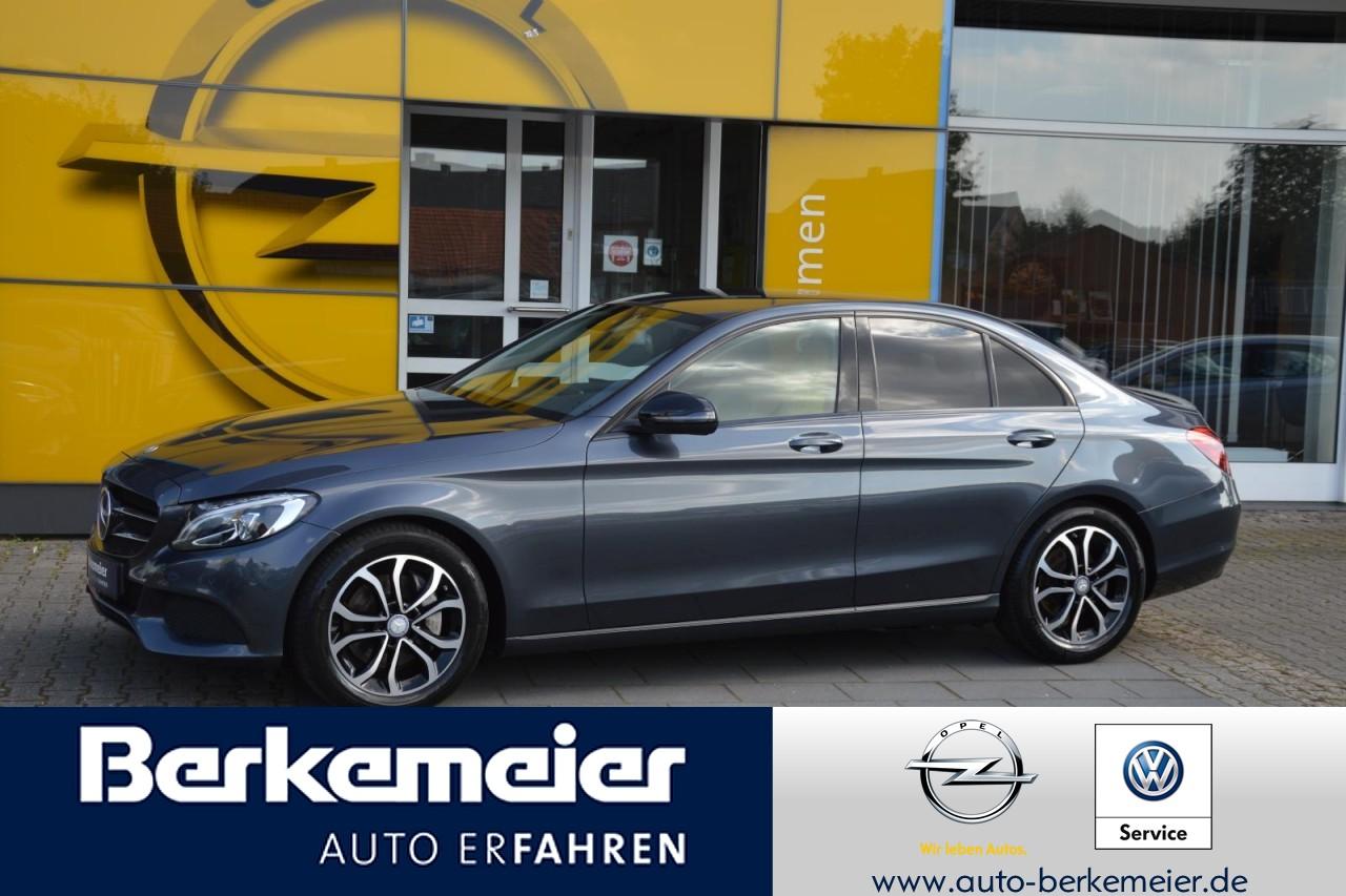 Mercedes-Benz C 250 CGI/Business Plus/LED Perf./Navi/Night-P., Jahr 2016, Benzin
