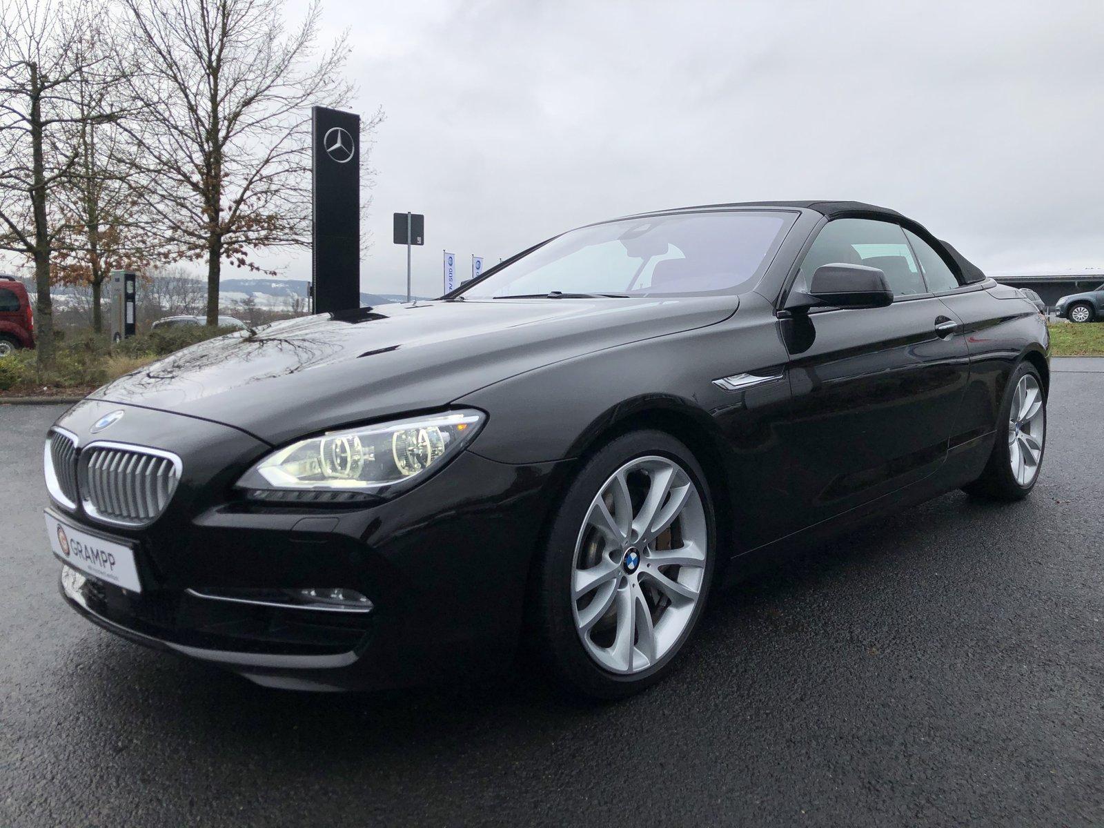 BMW 650 i Head up / Bang & Olufsen / Driving Assist, Jahr 2014, petrol