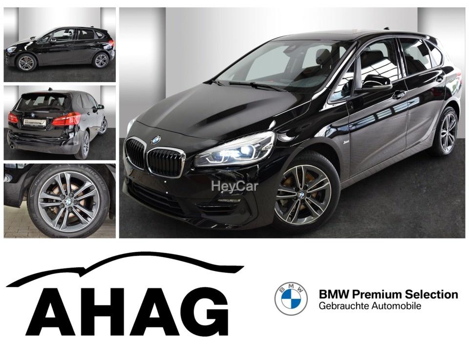 BMW 218 Active Tourer Sport Line Panorama Klimaaut., Jahr 2018, Benzin
