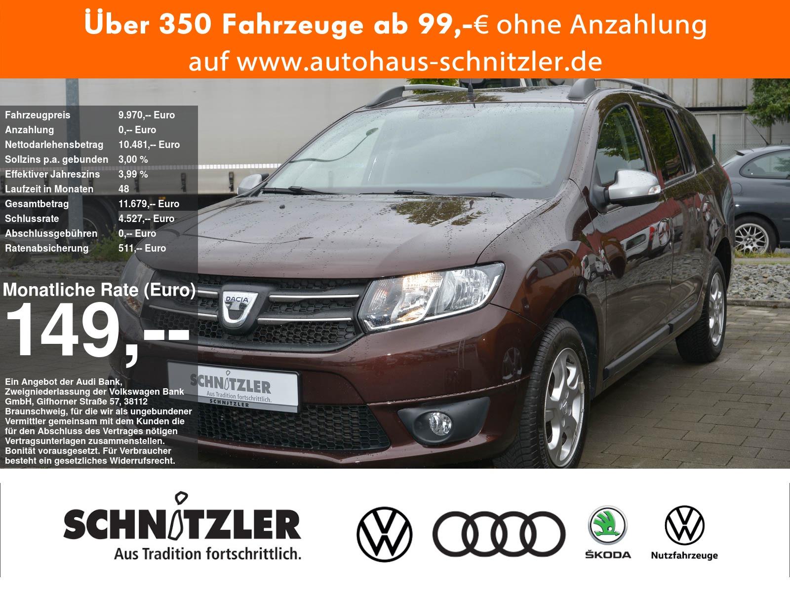 Dacia Logan II 0.9 Tce Automatik **149,-ohne Anzahlung**, Jahr 2017, Benzin