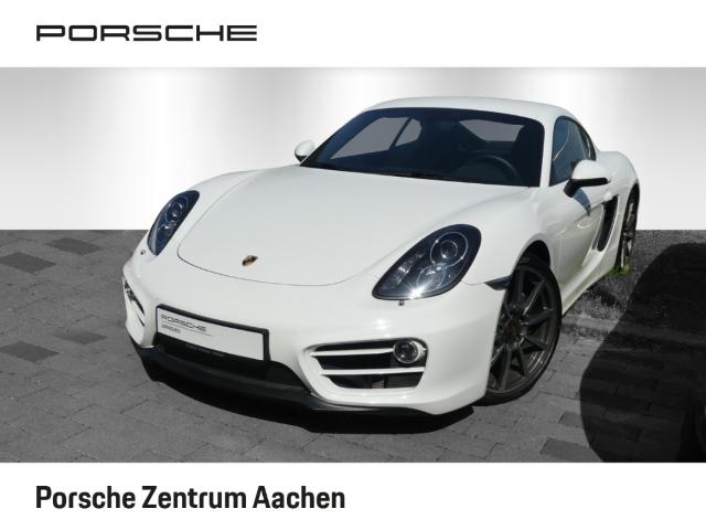 Porsche Cayman 981, 20'',PASM,Sitzbelüftg,SportsitzePlus, Jahr 2013, petrol