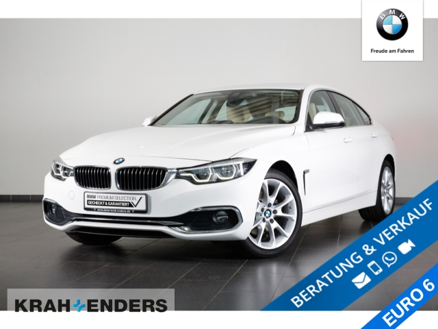 BMW 420 Gran Coupe d xDrive Luxury Line+HUD+LED+Navi, Jahr 2017, Diesel