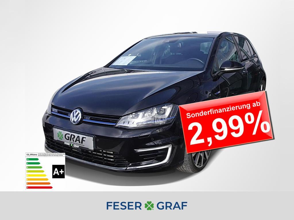 Volkswagen Golf VII GTE 1.4 TSI DSG Hybrid Xenon/Navi/ACC, Jahr 2016, Hybrid