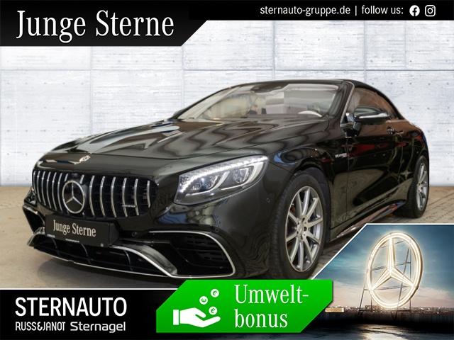 Mercedes-Benz S 63 4M Cabriolet Sitzklima Distro Sound Multikont, Jahr 2019, Benzin