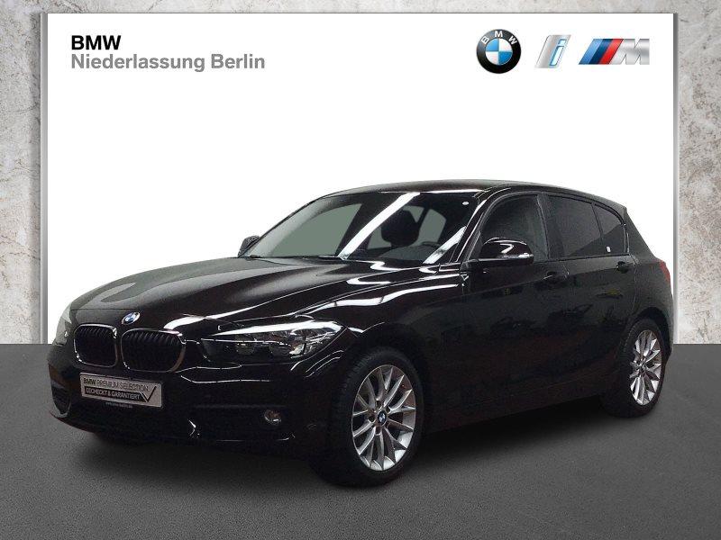 BMW 116d 5-Türer EU6 Aut. Navi Servotronic PDC, Jahr 2018, Diesel