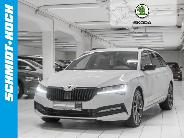 Skoda Superb Combi 2.0 TSI Sportline DSG, LED, Navi, Jahr 2019, Benzin