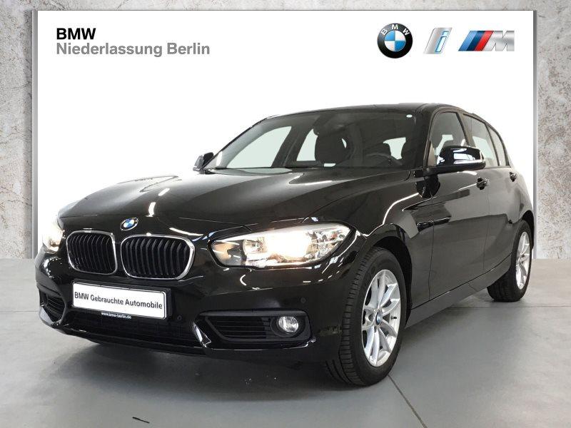 BMW 120i 5-Türer EU6 Aut. Navi Tempomat PDC Alu, Jahr 2017, Benzin