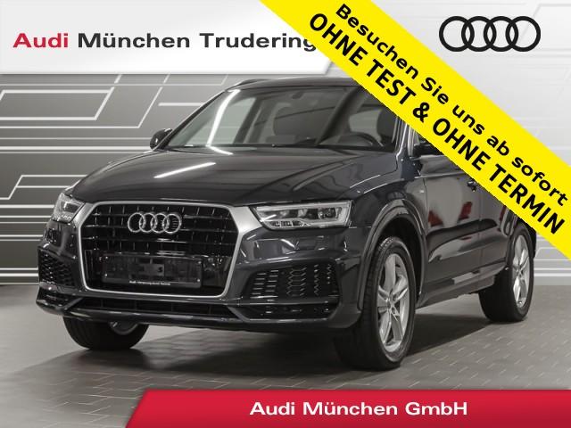 Audi Q3 1.4 TFSI sport S line/APS+/FIS/Komfort-Paket/LED, Jahr 2018, Benzin