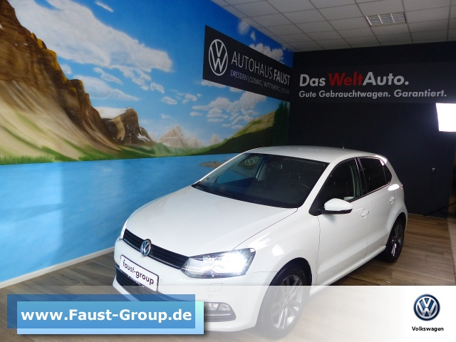 Volkswagen Polo SOUND UPE 23000 EUR Navi LED Climatronic, Jahr 2017, Benzin