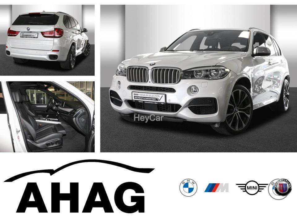 BMW X5 M50d Navi 21'' LED Pano Standheiz AHK SoftClos, Jahr 2017, Diesel