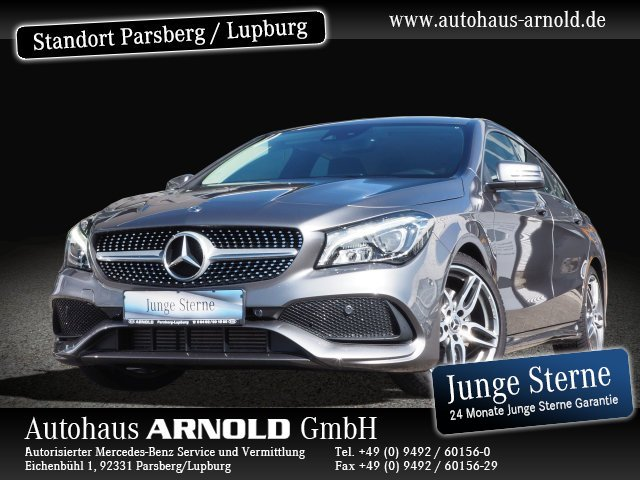 Mercedes-Benz CLA 250 Shooting Brake AMG Line LED AHK Navi SHZ, Jahr 2018, Benzin