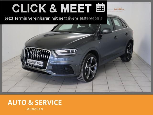 Audi Q3 2.0 TFSI quattro S tronic Navi|Xenon|AHK|PDC, Jahr 2014, Benzin