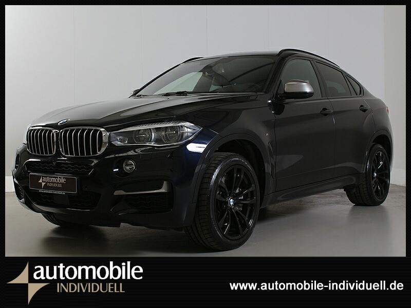 BMW X6 M50d M Sportpaket AHK ACC Standh LED HuD Navi, Jahr 2018, Diesel