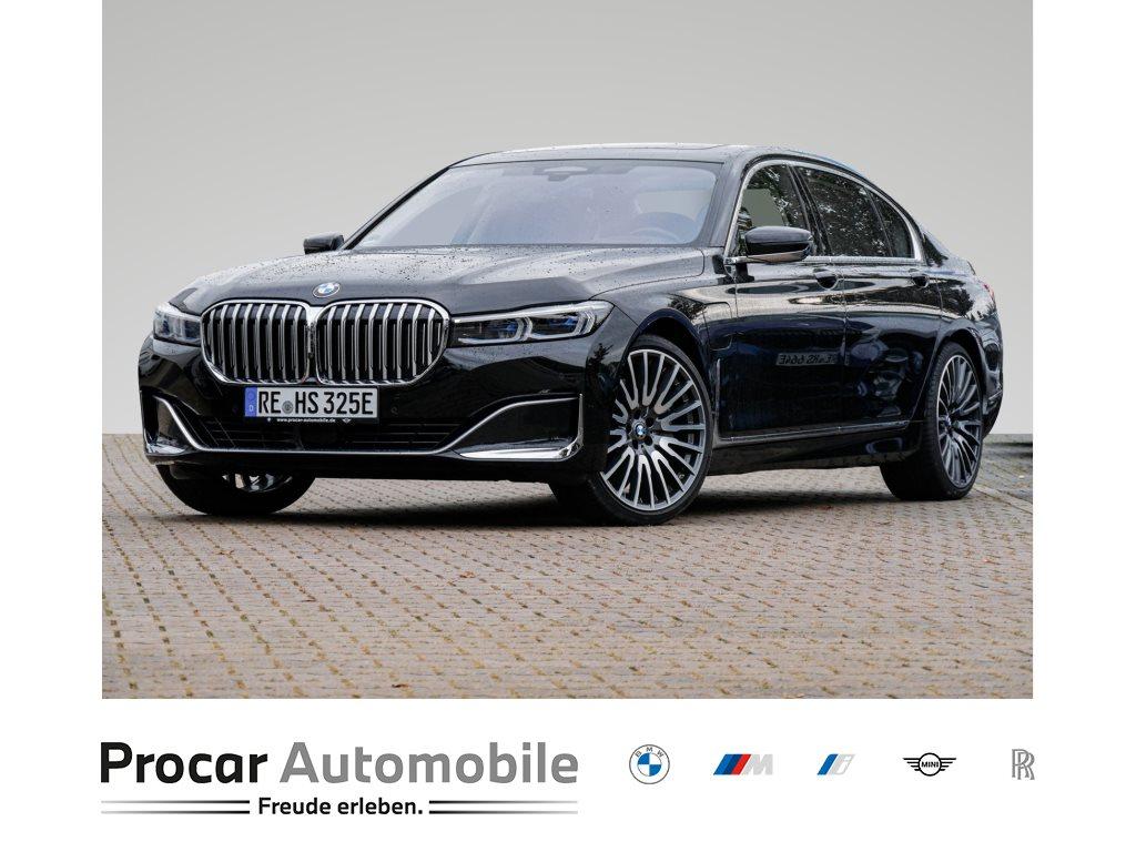 BMW 745Le xDrive 21`` KOMFORTSITZE HUD GLASD MASSAGE, Jahr 2019, Hybrid