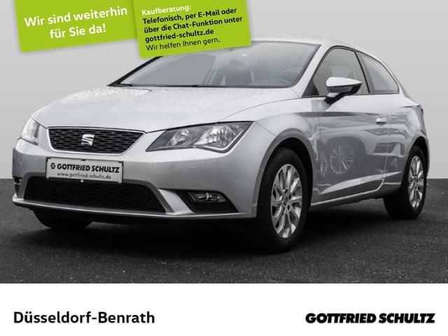Seat Leon SC 1.2 TSI Style Kurvenlicht Multif.Lenkrad Knieairbag RDC Klima Temp PDC CD AUX, Jahr 2016, Benzin