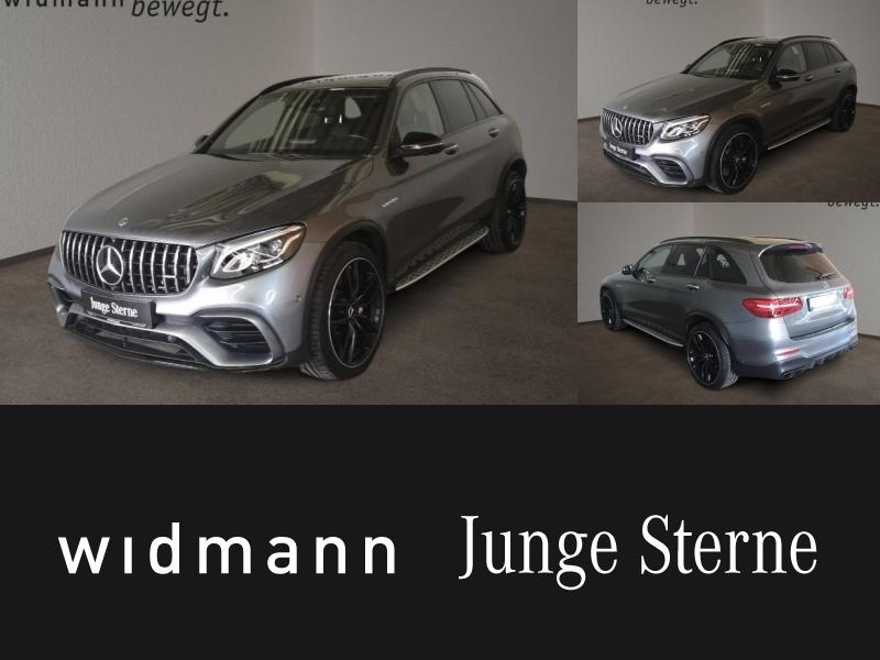 Mercedes-Benz GLC 63 AMG 4M+ *Burmester*360°*Fahrassist.*SHZ*, Jahr 2019, Benzin