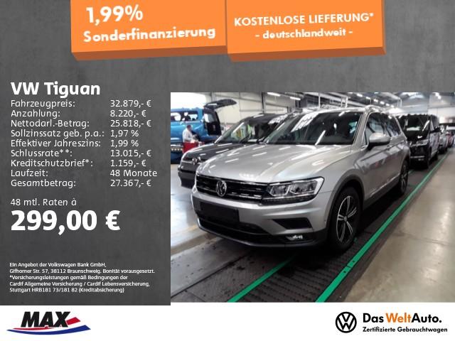 Volkswagen Tiguan 2.0 TDI DSG JOIN LED+ACC+PANO.+AHK+KAMERA, Jahr 2019, Diesel