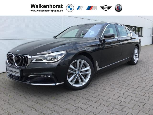 BMW 750 i Laser HUD Navi Leder Massagesitze Rückfahrkam., Jahr 2016, Benzin