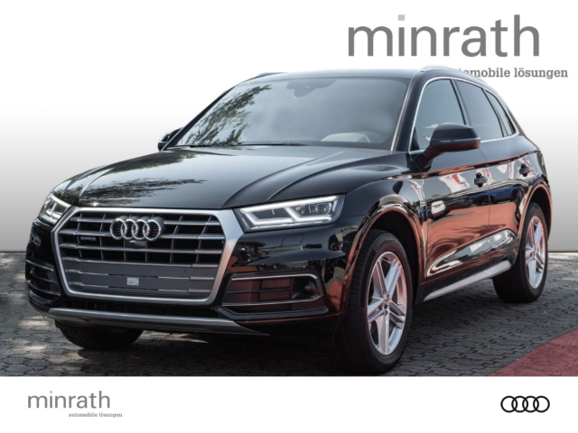 Audi Q5 quattro sport 2.0 TDI S line LED Navi Keyless e-Sitze ACC Parklenkass. Rückfahrkam., Jahr 2018, Diesel