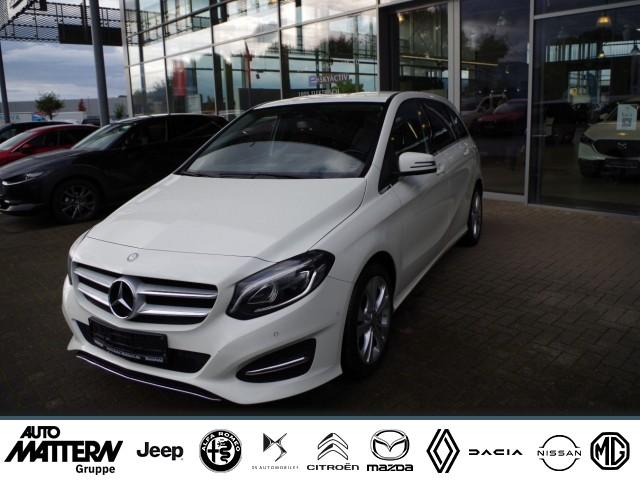 Mercedes-Benz B 200 CDI Urban Teilleder Navi, Jahr 2016, Diesel