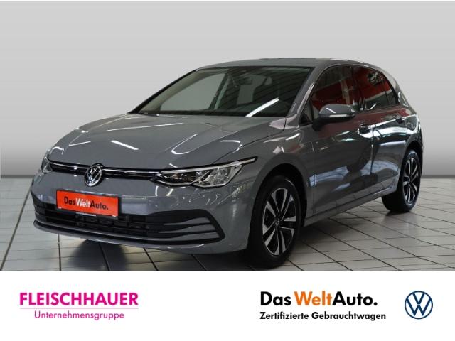 Volkswagen Golf VIII United 1.0 TSI NAVI KLIMA SHZ PDC ACC AHK, Jahr 2020, Benzin