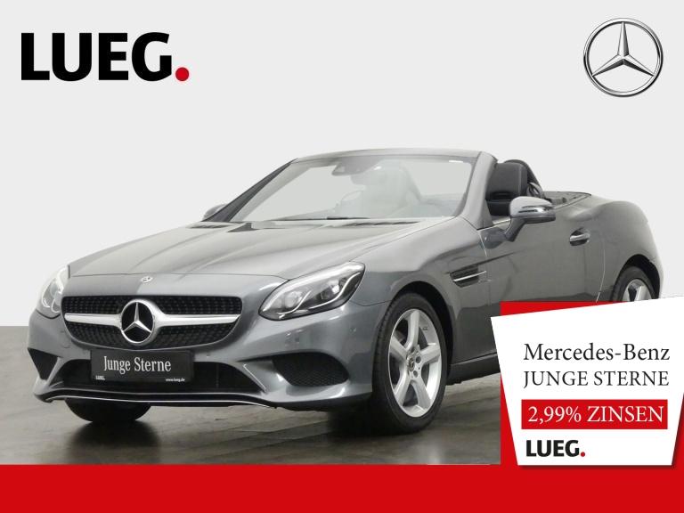 Mercedes-Benz SLC 180 Navi+Pano+LED-ILS+AIRSCARF+SHZ+ParkAss+, Jahr 2019, Benzin