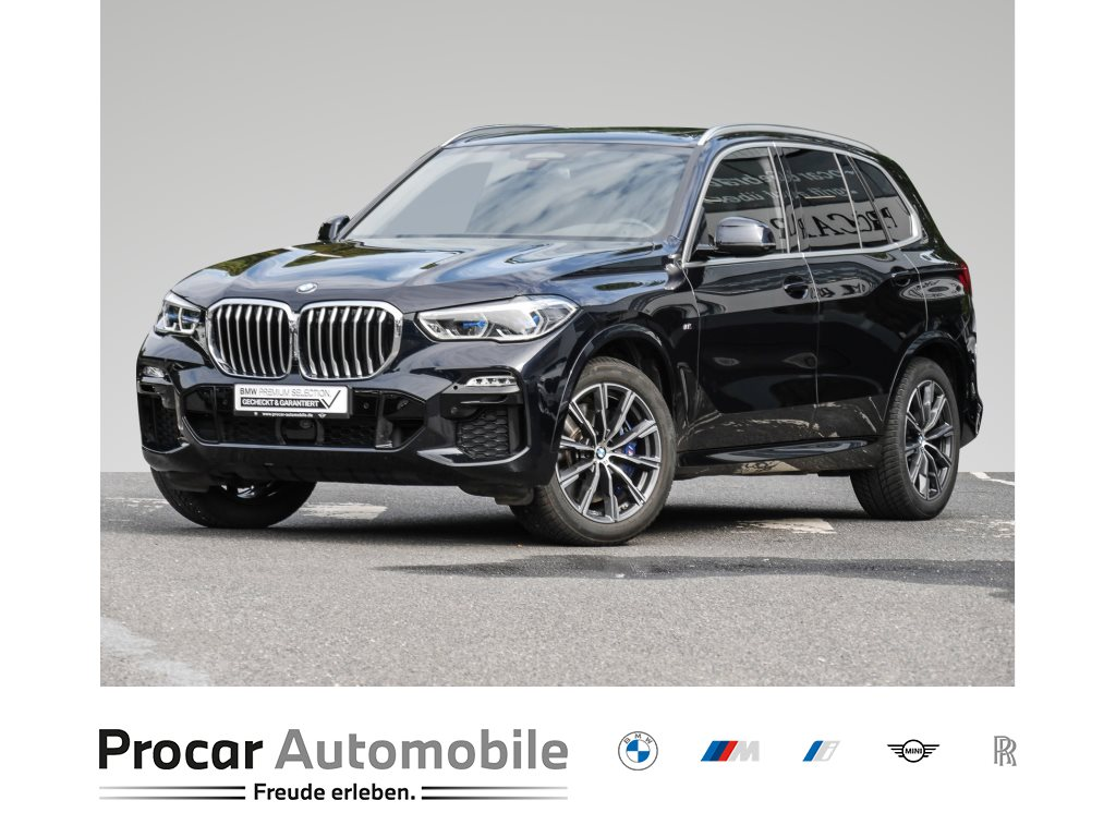 BMW X5 xDrive40d +M-SPORTPAKET+HUD+HIFI+LASERLICHT+GESTIKST.+DAB+, Jahr 2020, Diesel