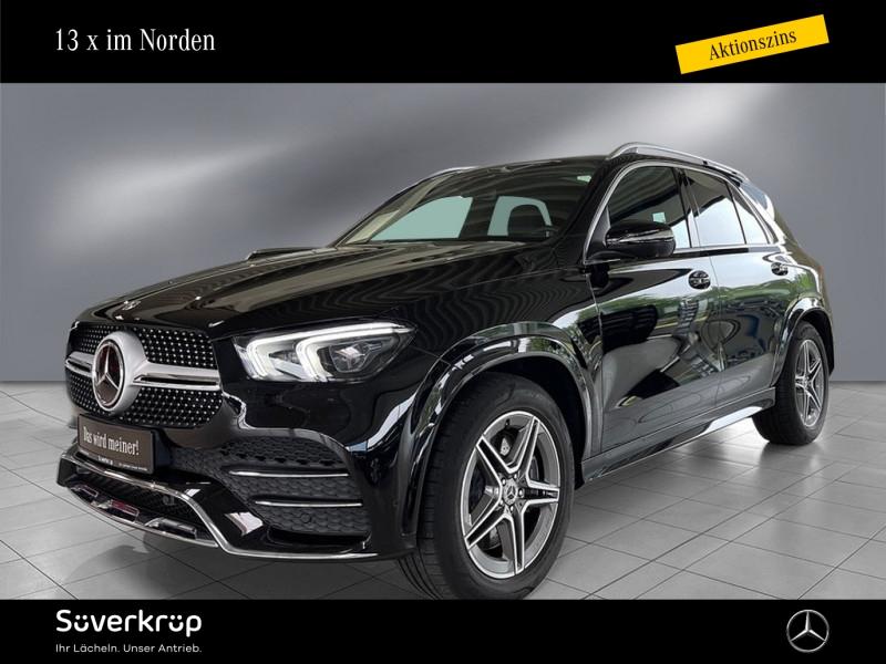 Mercedes-Benz GLE 450 4M AMG Line Burmester/Fahrassist., Jahr 2018, Benzin