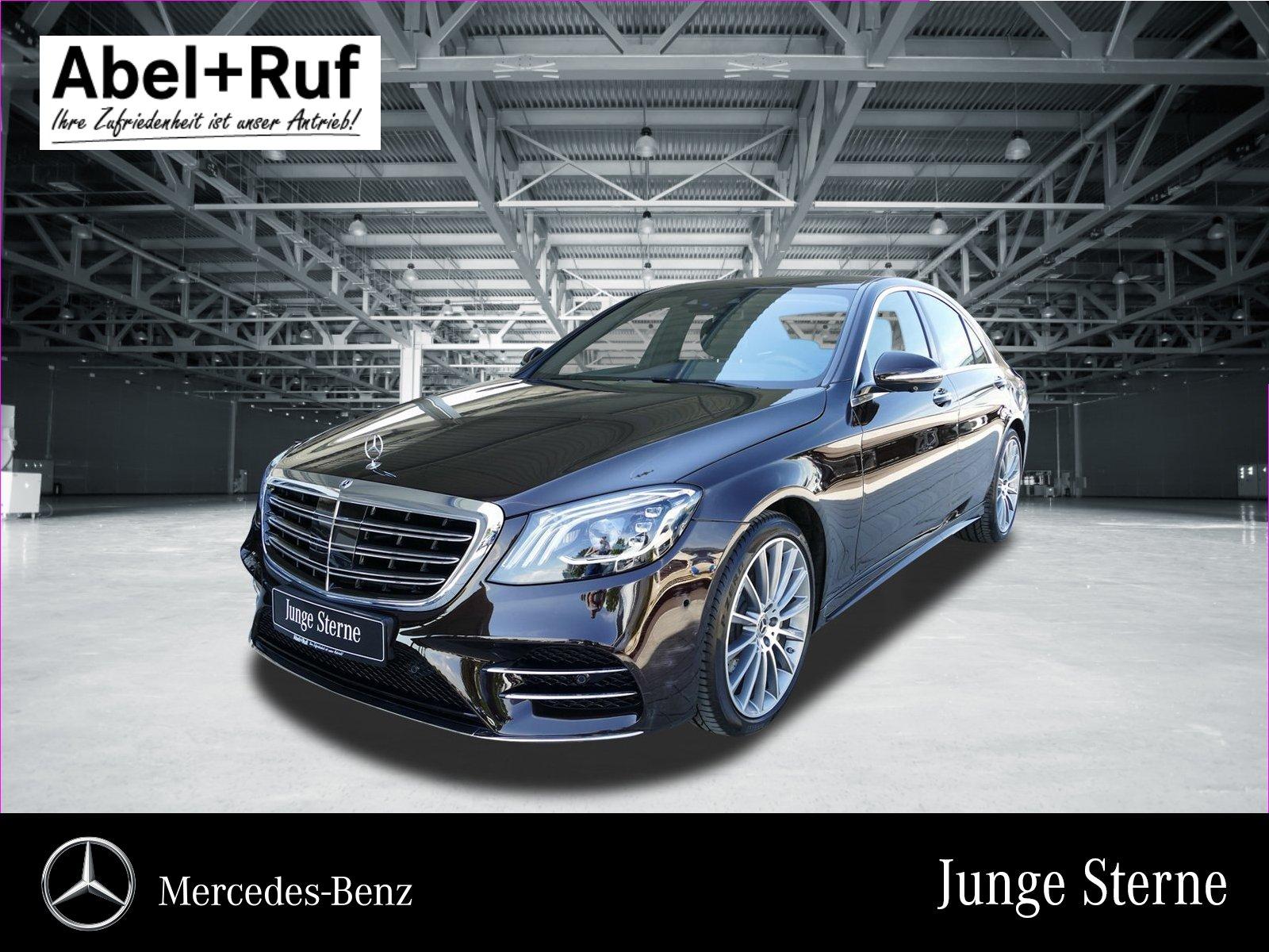 Mercedes-Benz S 450 AMG Mulitbeam 360° Memory Burmester HUD, Jahr 2018, petrol