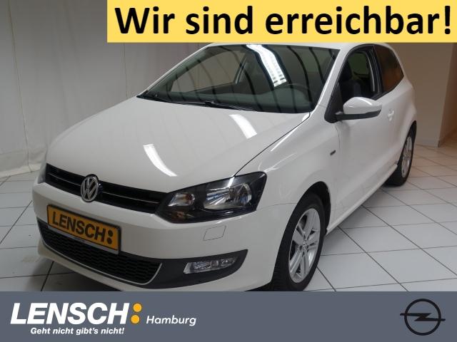 Volkswagen Polo 1.2 TSI Life SITZHZG+CLIMATRONIC+PARKPILOT, Jahr 2014, Benzin