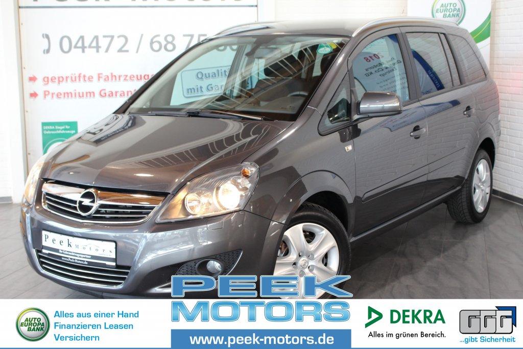 Opel Zafira 1.6 CNG Turbo Family Klima Tempomat Sitzheizung, Jahr 2012, Gas