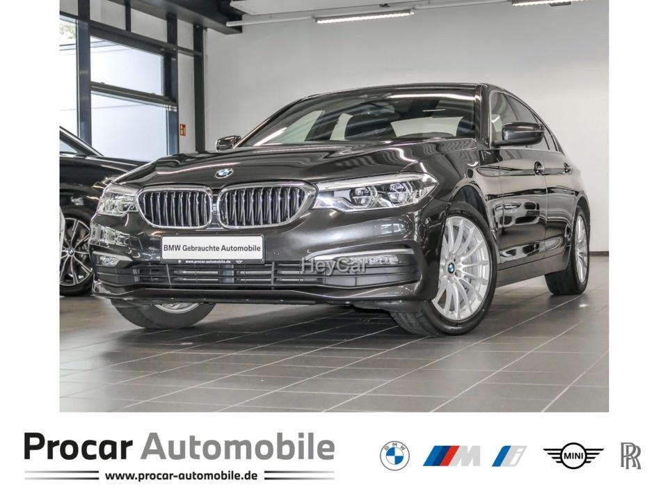 BMW 530i xDrive Navi Prof. Aut. Klimaaut. Glasdach, Jahr 2017, Benzin