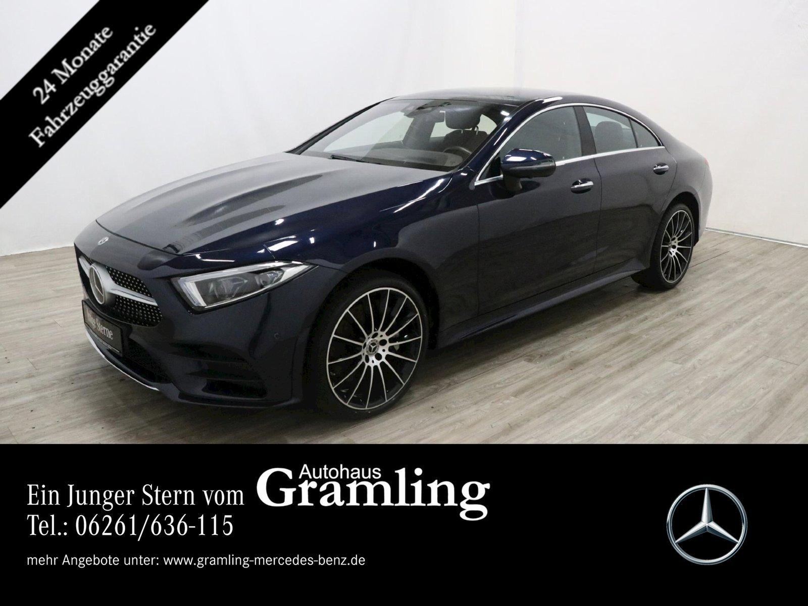 Mercedes-Benz CLS 400 d 4M AMG AHK*Distr*360°*Standh*Sitzklima, Jahr 2019, Diesel